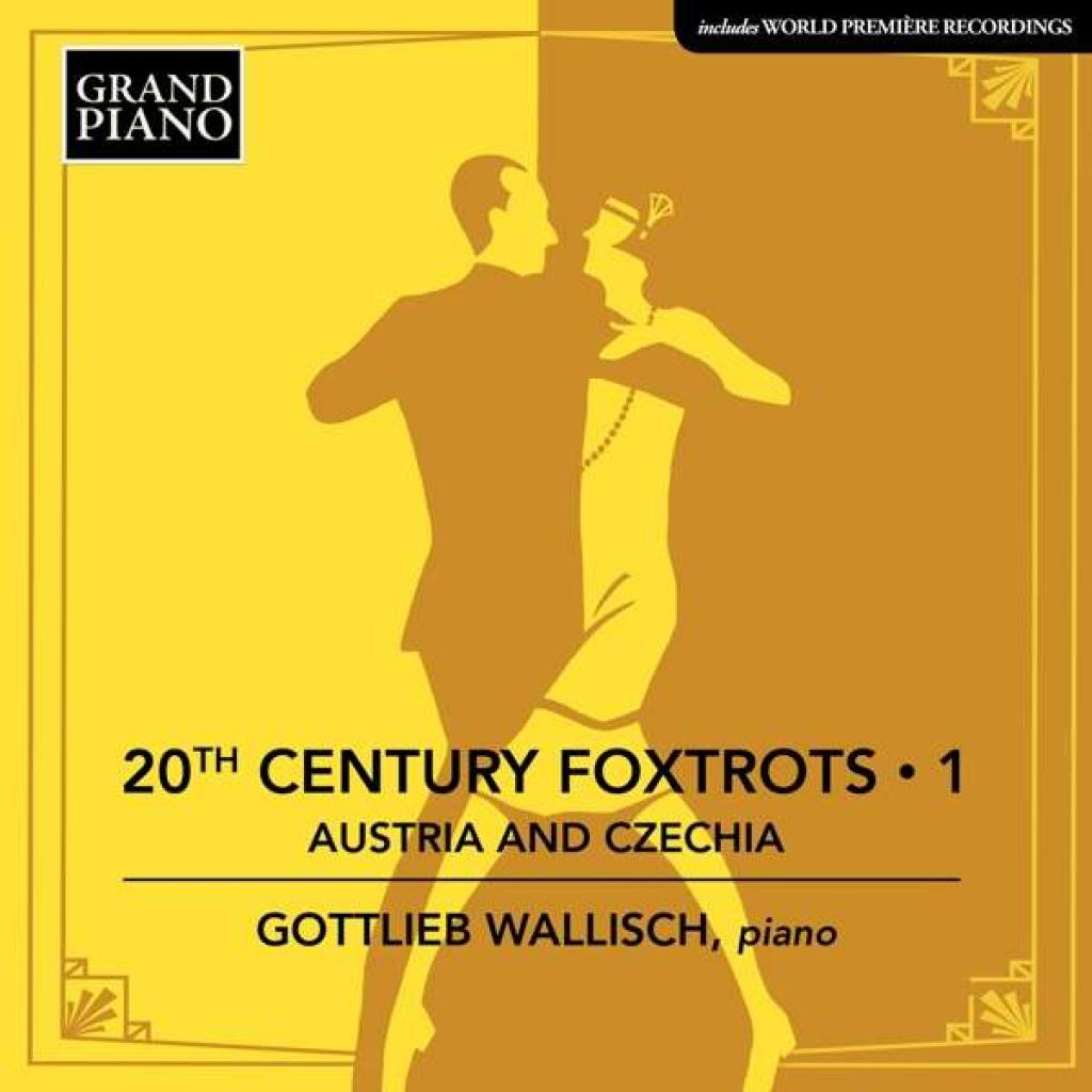 CD Cover 20th Century Foxtrott Krenek Gottlieb Wallisch