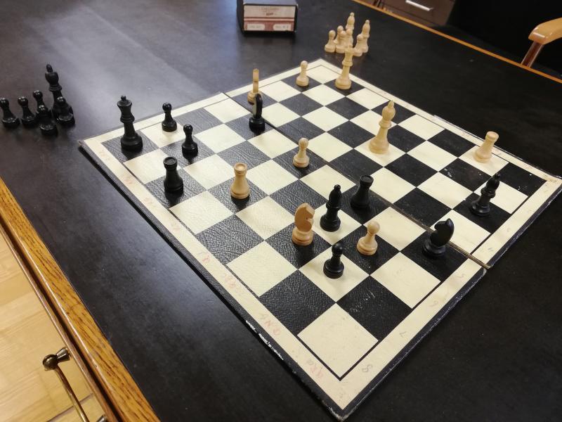 Schachspiel Ernst Krenek Position aus Harry Potter