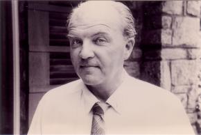 Ernst Krenek, Portrait mit verschmitztem Blick, Albuquerque ca. 1955