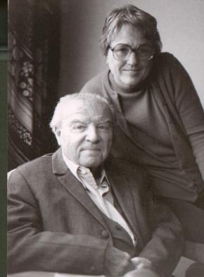 Portrait von Ernst Krenek und Gladys Nordenstrom Krenek, Hamline University 1975