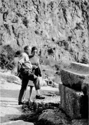 Ernst Krenek und Gladys Nordenstrom Krenek, Hochzeitsreise Griechenland, 1960