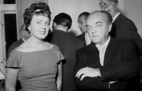 Gladys Nordenstrom Krenek und Ernst Krenek