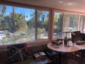 Krenek Haus Palm Springs Arbeitszimmer
