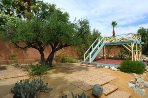 Garten Krenek Haus Palm Springs