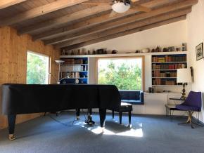 Klavierzimmer Krenek Haus Palm Springs Bösendorfer