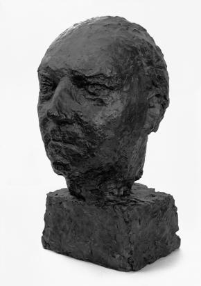 Ernst Krenek Büste von Anna Mahler 1957 Leihgabe Wien Museum