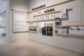Ausstellung Salon Krenek Raum 1